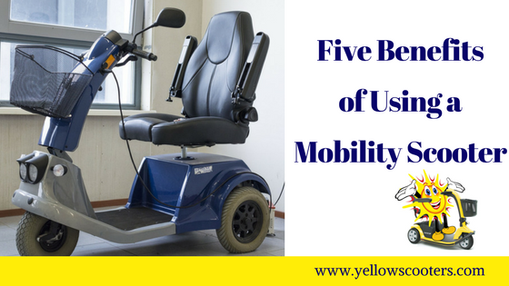 Five Benefits of Using a Mobility Scooter Featured Image