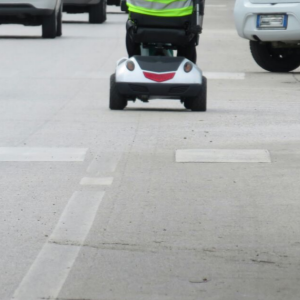 can i drive a mobility scooter on the road