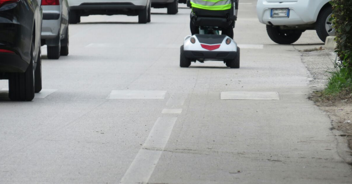 Are Mobility Scooters Allowed on the Road?