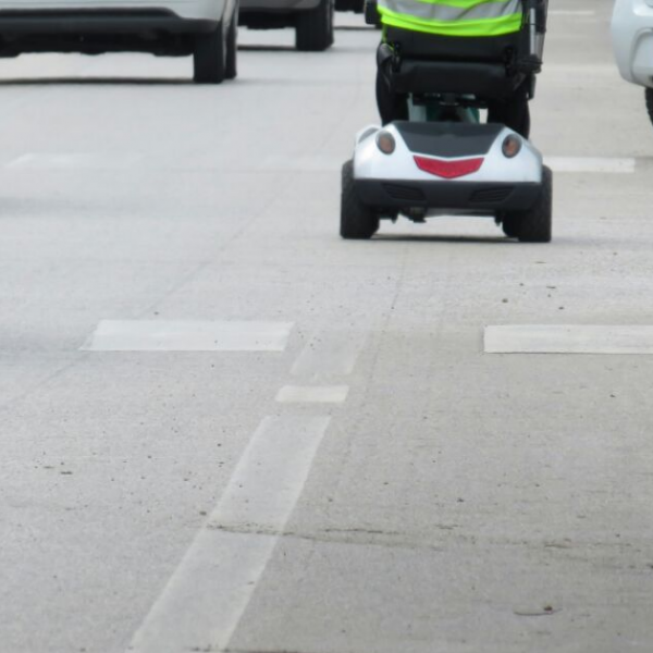 Are Mobility Scooters Allowed on the Road? Featured Image